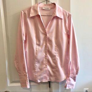 Calvin Klein Non-Iron Light Pink Button Down Shirt